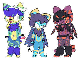 Cuddle Demon Adopts (closed) by DapperHats