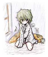 GUMI medio despierta mi version XD by ROYHACK