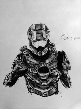 HALO Mastercheif by grapeninja