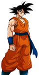 Son Goku doodle by ss2sonic
