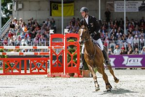 3DE Show Jumping Phase Stock 57 by LuDa-Stock