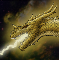 King Ghidorah Bust by hypergojira