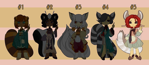 Oriental and Fluff Adopts [1/5 OPEN] by Miyanko