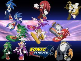 Sonic Riders by TheShadowAlchemist