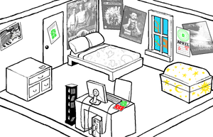 John Egbert's Bedroom by ThisAccountIsDead462