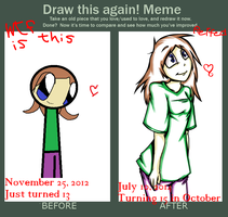 Improvement Meme by DeadMooseMarch