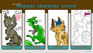 Character Meme by constell8ion