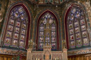 Stained glass windows Mortagne au Perche Orne Fran by hubert61