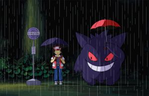 My Neighbor Gengar by mscorley