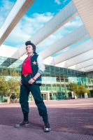 A Space Dandy it's a dandy guy in space by MadeinPlute