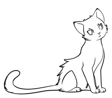 Free cat lineart by Insol