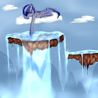 Waterfall by MissMaeko