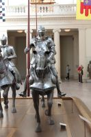 mounted knight close up 10 by oldsoulmasquer
