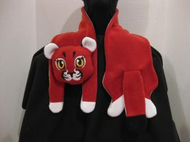 Curona Character Custom Scarf by apricityhats