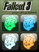 Fallout 3 Pip-boy Icons by firba1