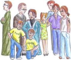 The Weasley Family by Sakura-no-Hana90