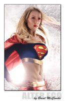 Supergirl-Heat Vision by kristifromcanada