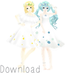 TDA Soft Rin and Miku Download by Kavailateg
