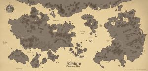 [Personal/Cartography] Mindirra by Ulario