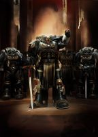 W40K - Deathwatch by Diana-Martinez
