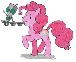 Pinkie X Gir by Sandy--Apples