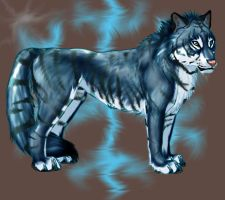 The Tiger Wolf Hybrid by TheTyro