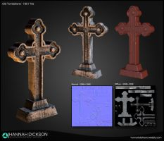 Old Tombstone by HannahDickson3D