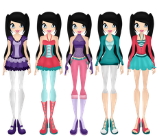 roxana all casual outfits S1-S5 by WinxFandom