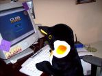 Mr. Penguin Plays Club Penguin by tehgelertwholikespie