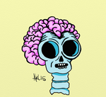 Skull Thing by AnalieKate