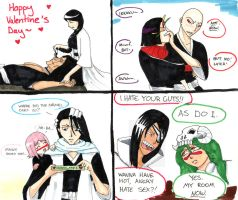 Bleach - Valentines Day by Angel-Uriel
