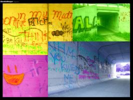 Grafitti Tunnel by wagn18