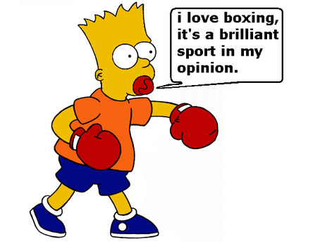 Bart Boxing Baby...... by boxingglovehands