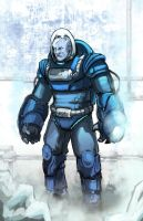 Mr Freeze WiP by xashe