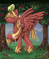 The princess of orchard by Alumx