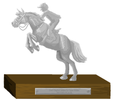 Grand Prix Show Jumping Trophy - Second place by femalefred