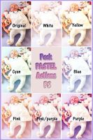 Pack PASTEL Actions PS by Photos-Loutche