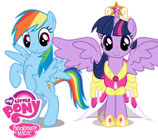 twilight and dash vectors by shadowandtwilight