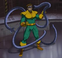 spider man the animated series doctor octopus by stalnososkoviy