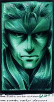 MGS Solid Snake Codec Profile Pic by Lemia