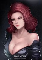 Marvel Black widow by magion02