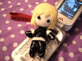 Mello Plushie phone strap by xVanillax