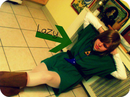 Lazy Link Is Lazy ID by IoniaFreak