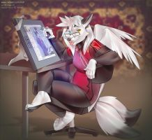 Orphen-Sirius at work by miles-df