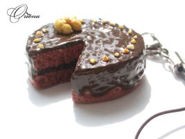 "Trinket ""Chocolate Cake"" by OrionaJewelry"
