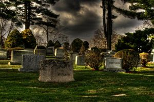 Eerie Cemetary by Keith-D