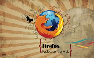Firefox Wallpaper by raoros