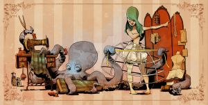 sewing with otto by BrianKesinger