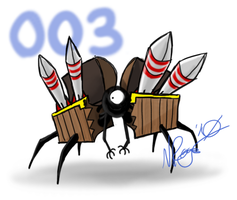 003: Missile Mimic by The-Knick