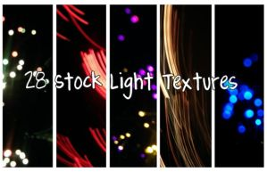 28 Stock Light Textures by throw-elijah